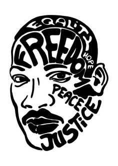 Martin Luther King ... #illustrator #drawing #martinlutherking #freedom #peace #hope #justice