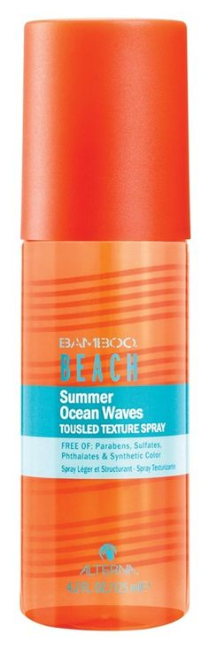 For just-back-from the-beach hair