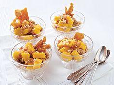 Süßer Kokos Mango Couscous mit Vollkorn Couscous