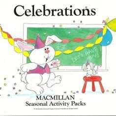 Celebrations MacMillan Seasonal Activity Pack Visual Counting Matching Skill #MacMillan #WorkSheets