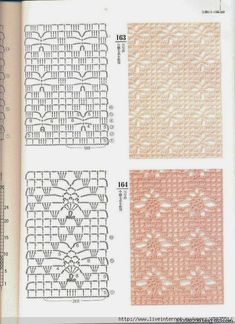 More spider pattern examples