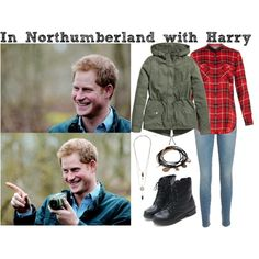 #DayPrinceHarry by dashareus on Polyvore featuring мода, Vince, H&M, Frame Denim and Forever 21