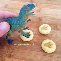 #dinossauro #biscoitos #filho # crianças