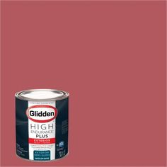 Glidden High Endurance Plus Exterior Paint and Primer, Retro Rose, #90RR 21/418, Pink