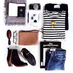 the gentlewoman #travel #flatlay