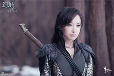 Victoria Song in Ice Fantasy as Li Luo