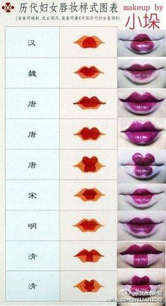 How to create cool Geisha lips!