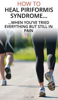 3 little-known therapies to fix piriformis syndrome pain - New Ideas Piriformis Syndrome Symptoms, Piriformis Exercises, Back Pain Exercises, Sciatica Stretches, Piriformis Syndrome Treatment, Piriformis Muscle, Stability Exercises, Core Stability, Health