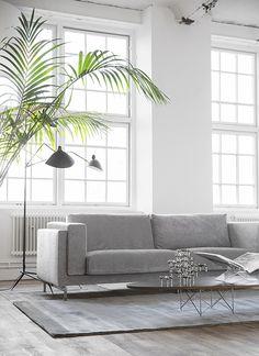 Bemz cover in velvet styled by Trendenser - IKEA Hack DIY