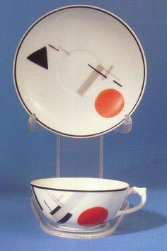 Soviet ceramics of the Art Deco, Art Nouveau, Graphic Design Pattern, 2d Design, Russian Constructivism, Kazimir Malevich, Russian Avant Garde, Teapots And Cups, Art Base