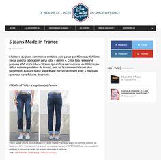 c2177a7a4a2 Les Petites Boites Françaises classe l Impétueuse dans les meilleurs jeans  Made in France. Presse ÉcriteBoiteFrance