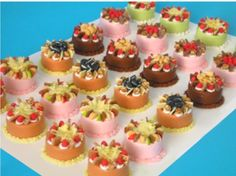 how to: mini cakes from air drying clay