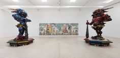 Takashi Murakami<br /> Lune Rouge, Ibiza, Spain, installation view, 2015<br /> Artwork ©Takashi Murakami/Kaikai Kiki Co., Ltd. All Rights Reserved.<br /> Photography: Andrea Rossetti