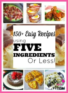 25 delicious date night recipes with 5 ingredients dinners 150 easy recipes using 5 ingredients or less forumfinder Image collections