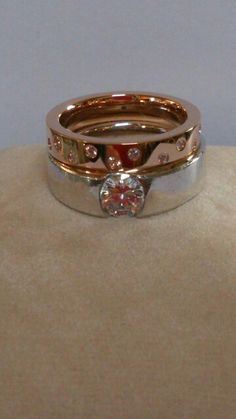 Order made diamond ring