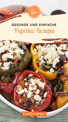 Paprika Rezepte :    #Paprika #Rezepte Detox Recipes, New Recipes, Diabetic Recipes, Healthy Recipes, Foods With Calcium, Baked Yams, Good Foods For Diabetics, Eat Smarter, Food Items