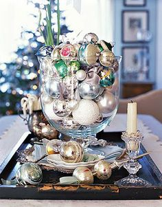 Inspire Bohemia: Christmas and Holiday Tablescapes Part II
