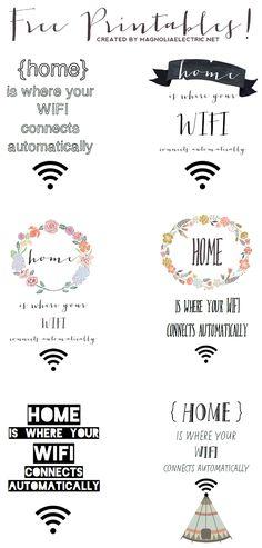 Wifi free für deine Gäste - by magnoliaelectric
