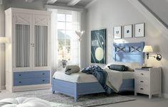 24 Fotos de quartos decorados azul e branco