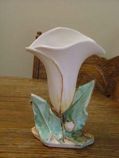 Vintage venado plantador, florero de ciervo,