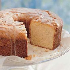 "Sour Cream-Lemon Pound Cake from MyRecipes.com (Psst! Top-Rated Recipe. Favorite Review: ""Completely Grand!! We love this cake, the freshness of lemon is so good."")"