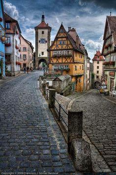Rothenburg ob der Tauber, such an amazing little town!