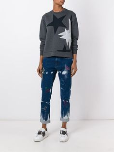 Stella McCartney джинсы 'Boyfriend' с вышивкой