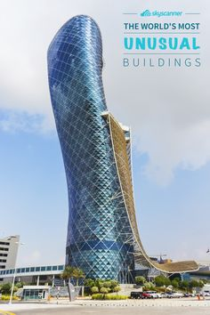 Take a break from the ordinary with these twisting, twirling, wild buildings that you won't believe actually exist. Building Structure, Building A House, Amazing Buildings, Unusual Buildings, Beautiful Architecture, Art And Architecture, Cultural Architecture, Unusual Things, Unusual Homes