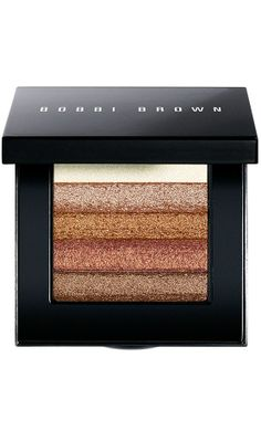 Glint of gold or a flash of blue. Everything you need to achieve the 'Midnight Bronze' look from Bobbi Brown and more!
