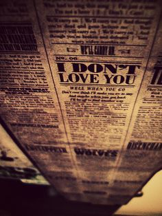 I Don't Love You - MCR