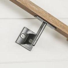 Linear Handrail Bracket - Raw Unpainted
