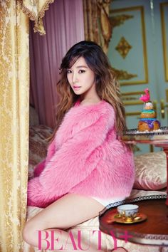 Tiffany de Girls' Generation es una princesa en rosa para Beauty+