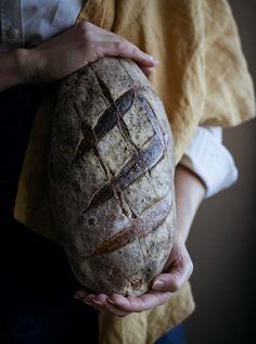 Aurinkoinen spelttileipä hapanjuureen   Resepti Baking Stone, Vintage Cooking, Sourdough Recipes, Artisan Bread, How To Make Bread, Bread Baking, Tray Bakes, Missoni, Photography Ideas