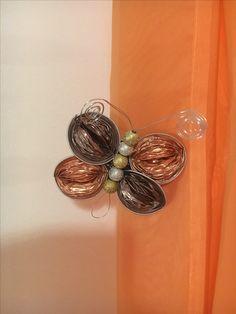 Schmetterling aus Nespresso Kapseln Nespresso, Drop Earrings, Creative, Jewelry, Fashion, Moda, Jewlery, Jewerly, Fashion Styles