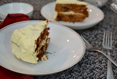 Paleo Carrot Cake with Honey Frosting