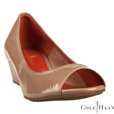 Cole Haan Air Tali Open Toe Wedge #VonMaur