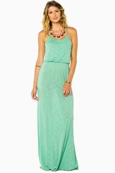 minty fresh dress!