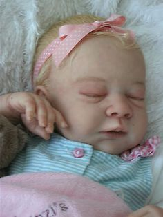 Beautiful Realistic Reborn Baby Girl Doll from 'Linzi's Beautiful Babies'