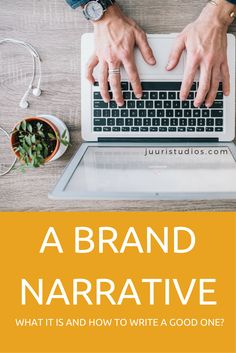 Your brand narrative is an essential part of your small business marketing. Here' why you need one and how to write a strong narrative for your brand. Small Business Marketing, Studios, Writing, Group, Board, Studio, Sign, A Letter, Writing Process