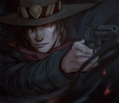 overwatch is cool! Character Concept, Character Art, Concept Art, D D Characters, Fantasy Characters, Abraham Van Helsing, Overwatch Fan Art, Overwatch Drawings, Overwatch Memes