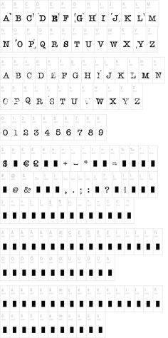 Stampwriter-Kit - great typewriter font - wedding invites!