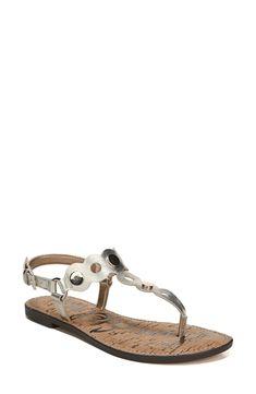 Buy SAM EDELMAN Gilly T-Strap Sandal online. New SAM EDELMAN Sandals. [$99.95] SKU XARM47762IPWU41384