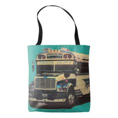 84 - Designer tote bag - Chica Sexy bus