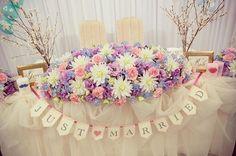 #cek_wedding_report 16 #高砂 高砂には絶対にしたかったチュールを…⭐️ 桜の花も両側に立ててもらって大満足 メインのお花は盛りだくさん シャンタルに合わせて、ホワイト・ピンク・パープル・ブルーに♡ 受付サインやキャンドル、ガーランドとDIYしたものも飾りつけして頂きました❣️\(^o^)/ #結婚式 #卒花嫁 #Wedding #ウェディング #ウエディング #春挙式 #2016春挙式 #2016swd #0326ちーむ #プレ花嫁 #DIY #メインテーブル #装花 #桜 #受付サイン #キャンドル #ガーランド #披露宴 #披露宴会場 #チュール高砂 #marryアプリ掲載応募