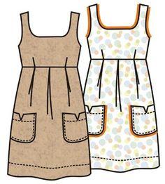 выкройка сарафана - Russian Language free printable womens patterns - use google.translate to use site...lots of fabulous designs