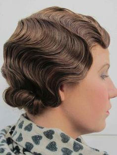 Photos Of Work From Period Hair Courses