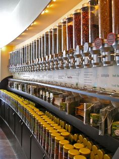 Argo Tea Chicago! Could spend my life here drinking Carolina Honey blend and eating flax bars.