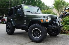 At Select Jeeps We Make it Happen for Our Customers! Switch Tops, Switch Wheels, Add Winches, Lifts, Bumpers etc.... http://www.selectjeeps.com/inventory/view/8489959/2006-Jeep-Wrangler-2dr-X-League-City-TX