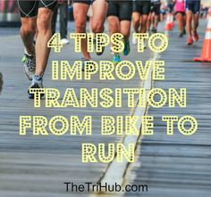 4 Tips To Improve Transition From Bike To Run Cycling For Beginners, Cycling Tips, Cycling Workout, Running Workouts, Bike Workouts, Swimming Workouts, Swimming Tips, Road Cycling, Ironman Triathlon Motivation