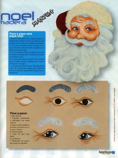.eyes for future Santa light bulbs